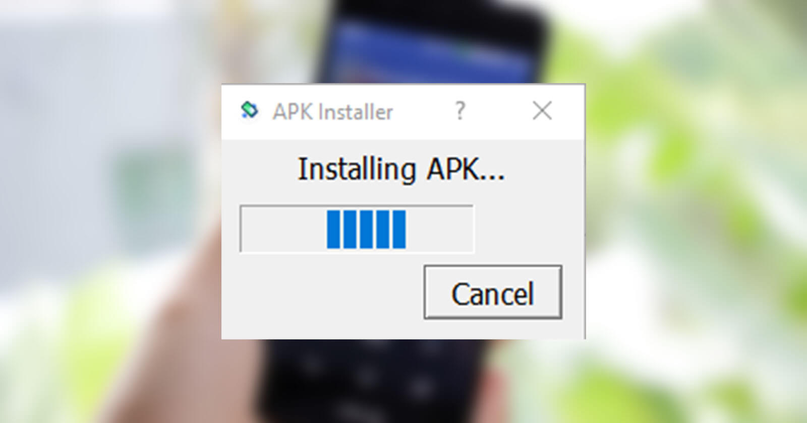 installing apk in android 271220